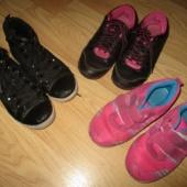 tüdrukute jalanõud s.33 ja 34