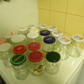 Mitmesugused klaaspurgid