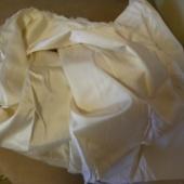 Valge voodririidekangas 5,5 m
