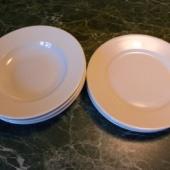 3 supi- ja 3 praetaldrikut