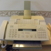 Tindiprinter/koopiamasin/tel/fax