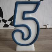 Sünnipäeva tordi küünal nr 5