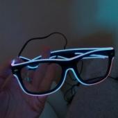 Valgustusega prillid (pimedas kasutamiseks)