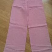 38 roosad linased püksid