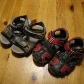 2 paari sandaale, 24-25