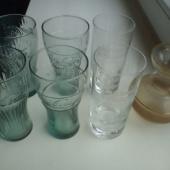 McDonaldsi klaasid, Borjomi klaasid, lillevaas
