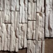 Dekoratiivkivi kipsist valge