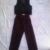 Poiste pidulik vest ja püksid 116cm