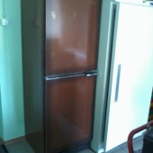 Külmkapp pruun