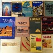 raamatuid ja järjehoidja
