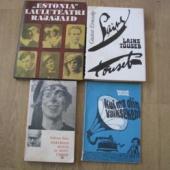 Muusika ja teatrialased raamatud