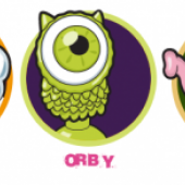 Stikeez (Puffy, Orby, Ely)
