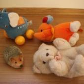 4 mänguasja