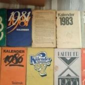 Vanad kalender-raamatud