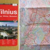 Vilniuse kaart u. 2008