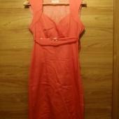 Lõheroosa kleit suurus 36