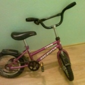 väikelaste jalgratas