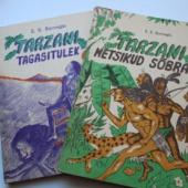 Tarzani raamatud 2 tk