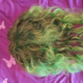 Roheline parukas