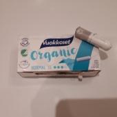 6 orgaanilisest puuvillast tampooni