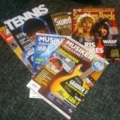 6 ajakirja (Rootsi, Prantsuse)