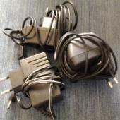 2 laadijat ja adaptor
