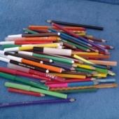 vildikad ja pliiatsid