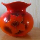 Oranš madalam lillevaas